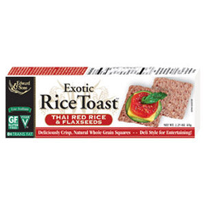 Rice Toast, Thai Red Rice & Flaxseed