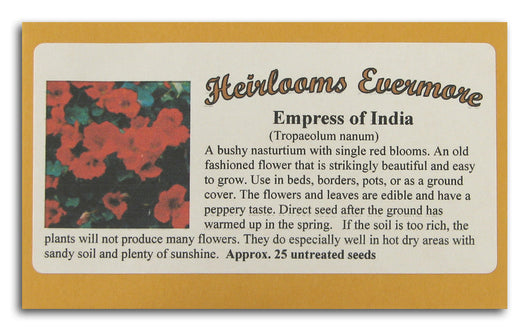 Empress of India Seeds