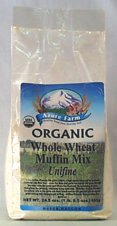 Muffin Mix, Whole Wheat, Organic