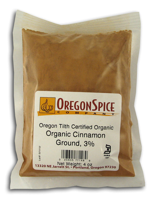 Cinnamon, Ground, Organic