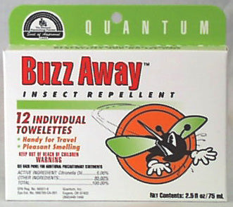 Buzz Away Towelettes