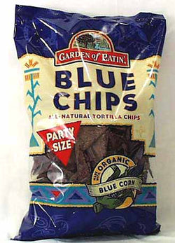 Party Size Blue Tortilla Chips