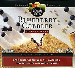 BLUEberry Cobbler Cereal Bars