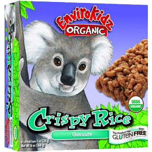Crispy Rice Bar, Choc Organic