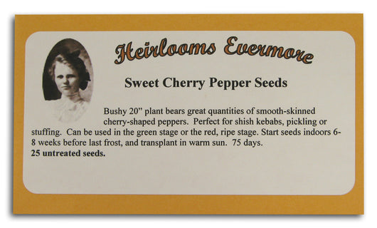 Sweet Cherry Pepper Seeds