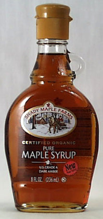 Maple Syrup Grade A, Organic