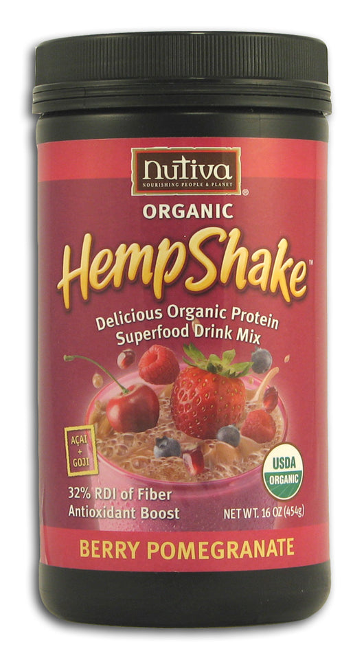 Hemp Shake, Berry Pomegranate, Organ