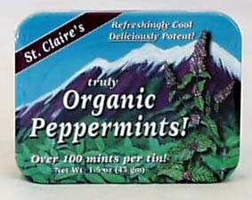 Organic PEPPERMINTS