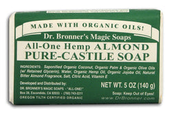 Hemp Almond Pure Castile Soap Org