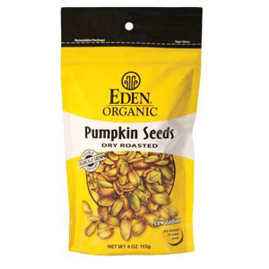 Pumpkin Seeds, Dry Roasted, Organic