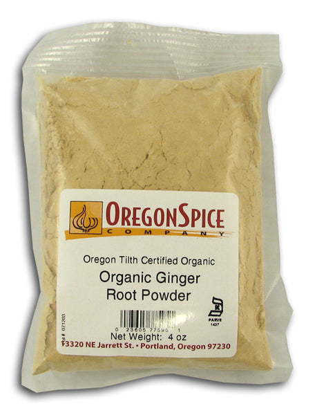 Ginger Root Powder, Organic