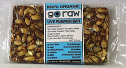 Freeland Go Raw Bars, Pumpkin Bar