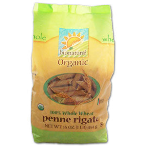 Penne Rigate 100% Whole Wheat, Org.