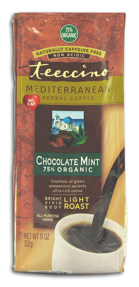 Chocolate Mint Herbal Coffee