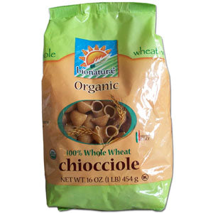 Chiocciole 100% Whole Wheat, Organic