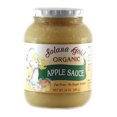 Apple Sauce, Organic-Glass