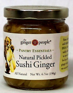 Sushi Ginger, Natural Pickled