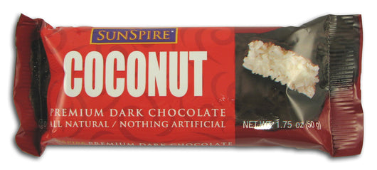 Coconut Bar, Dark Chocolate