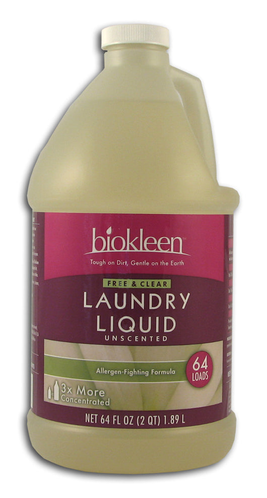 Free & Clear Laundry Liquid