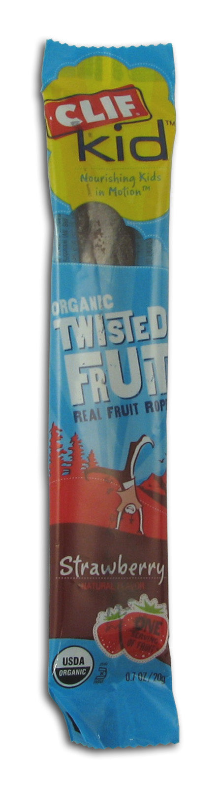 Twisted Fruit, Strawberry, Organic