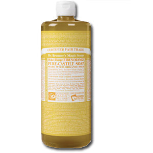Citrus Liquid Castil Soap, Organic