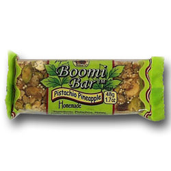 Boomi Bars Pistachio Pineapple Bars