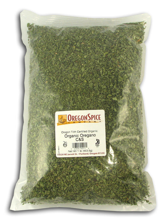 Oregano Leaf, Organic (C&S)