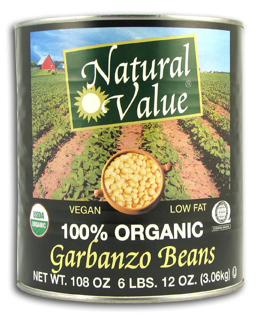 Garbanzo Beans, Organic (BIG can)