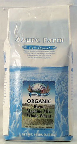 Azure Farm WW Bread Machine Mix, Org