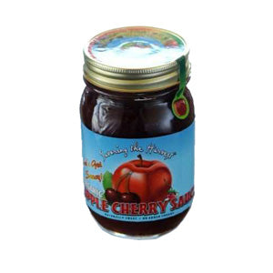 Apple Cherry Sauce, Organic