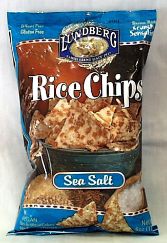 Rice Chips, Sea Salt
