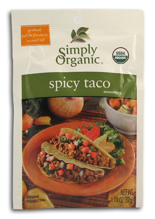 Spicy Taco Seasoning, Org
