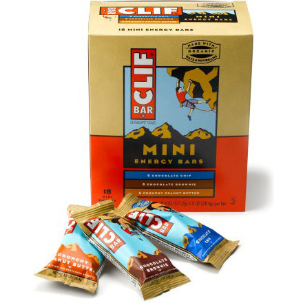 Clif Mini Bars, 18 ct Variety Pack