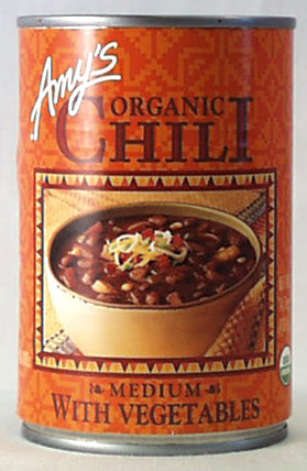 Medium Chili with Vegetables,Organic