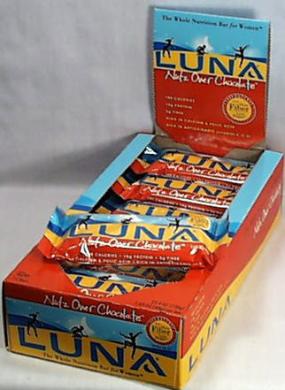 Nutz Over Chocolate LUNA Bar