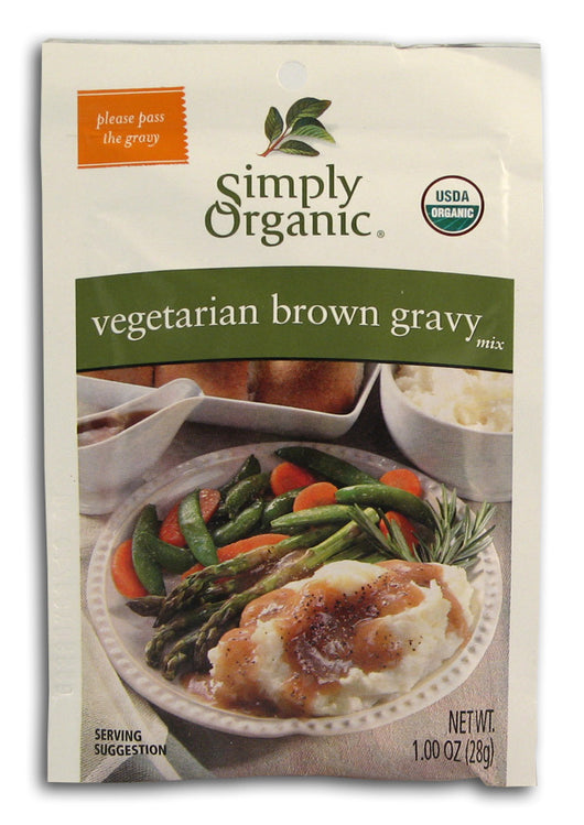 Vegetarian Brown Gravy Mix, Org