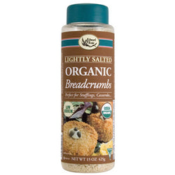 Breadcrumbs, Lightly Salted, Organic