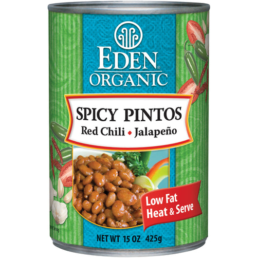 Spicy Pinto Beans, Organic