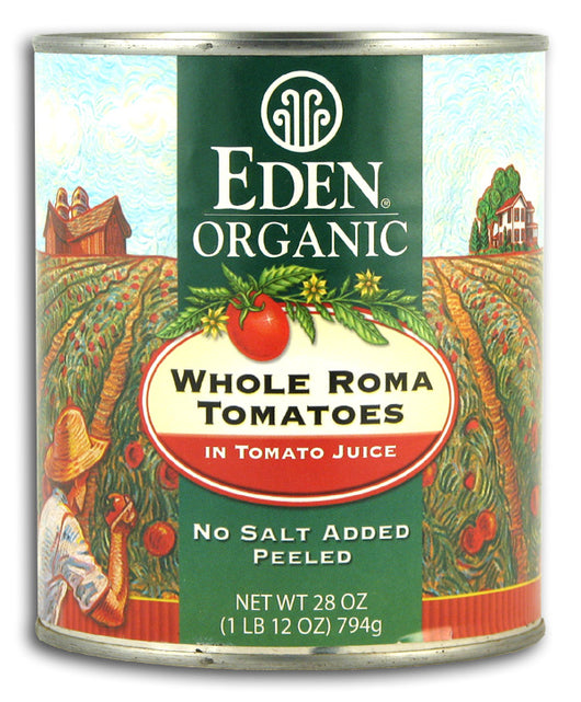 Whole Roma Tomatoes, Org