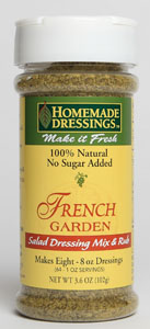 French Garden Salad Dressing Mix