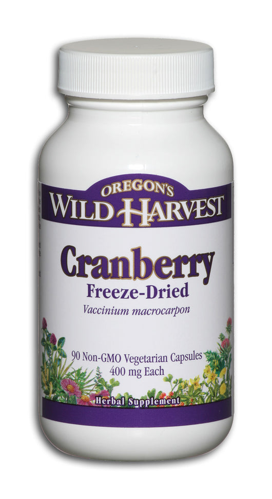 Cranberry, Whole Fruit, Freeze Dried