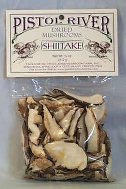 Pistol River Shiitake Mushrooms, Dri