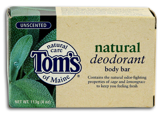 Unscented Deodorant Bar Soap