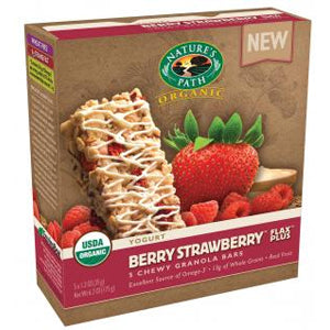 Berry Strawberry Granola Bar 5pk, Or
