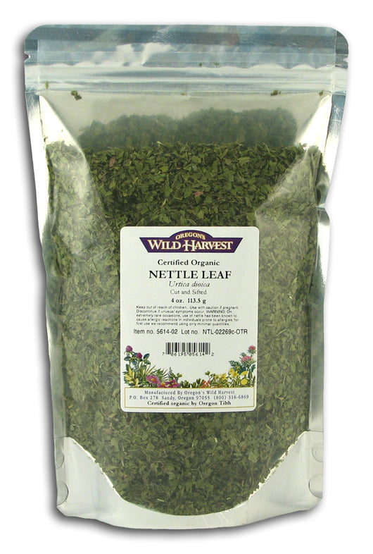 Nettle Leaf, Organic (Cut & Sifted)