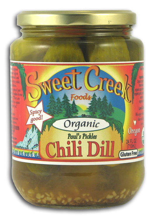 Paul's Pickles, Chili Dills, Organic