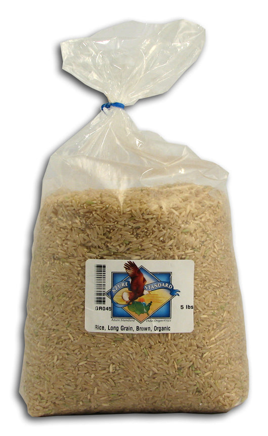 Rice, Long Grain, Brown, Organic