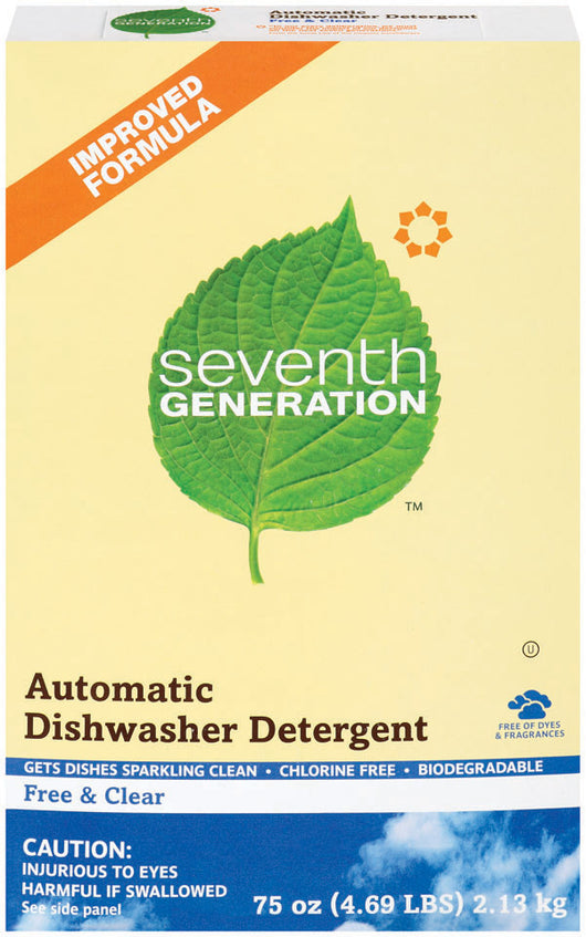 Automatic Dish Powder, Free & Clear