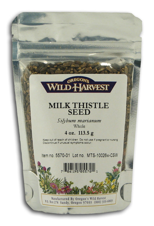 Milk Thistle Seed, Whole Organic