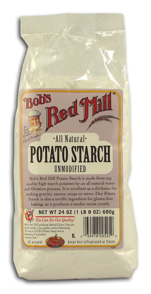 Potato Starch, Unmodified, All Natur